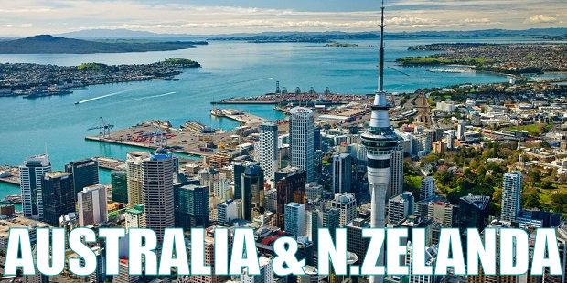 destinos favoritos - australia y nueva zelanda