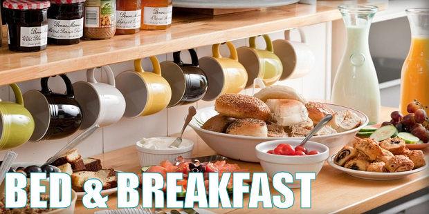 tipos de alojamientos - bed and breakfast
