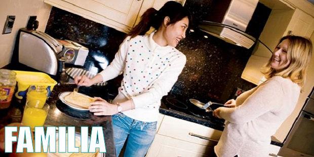 tipos de alojamiento - familias de acogida