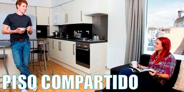 tipos de alojamiento - piso compartido